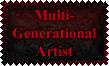 Multi-Generational Artist Stamp by Leathurkatt-TFTiggy