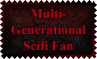 Multi-Generational Scifi Fan Stamp by Leathurkatt-TFTiggy