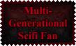 Multi-Generational Scifi Fan Stamp by Leathurkatt-TFTiggy