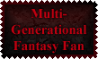 Multi-Generational Fantasy Fan Stamp by Leathurkatt-TFTiggy