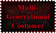 Multi-Generational Costumer Stamp by Leathurkatt-TFTiggy
