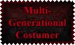 Multi-Generational Costumer Stamp by Leathurkatt-TFTiggy