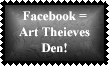 Facebook 3 Stamp by Leathurkatt-TFTiggy