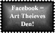 Facebook 3 Stamp by Leathurkatt-TFTiggy