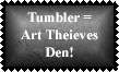 Tumbler 3 Stamp by Leathurkatt-TFTiggy