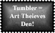 Tumbler 3 Stamp by Leathurkatt-TFTiggy