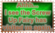 Screw Up Fairy stamp by Leathurkatt-TFTiggy