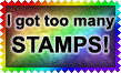 I Got Too Many Stamps by Leathurkatt-TFTiggy