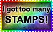 I Got Too Many Stamps by Leathurkatt-TFTiggy