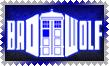 BadWolf TARDIS Stamp