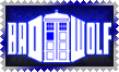 BadWolf TARDIS Stamp by Leathurkatt-TFTiggy