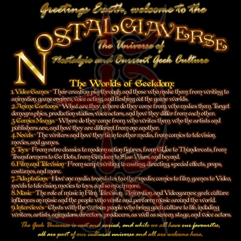 Nostalgiaverse Topic Board by Leathurkatt-TFTiggy