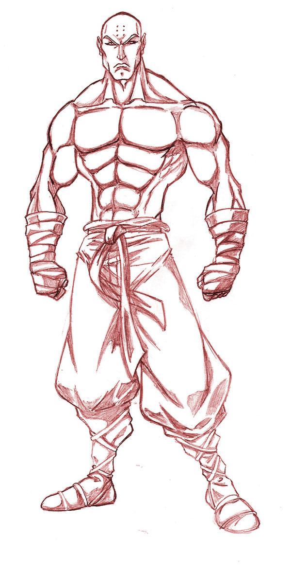 Battle Monk by BaianoFC