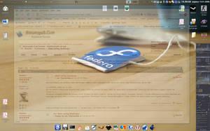Fedora icF:Teabag Desktop