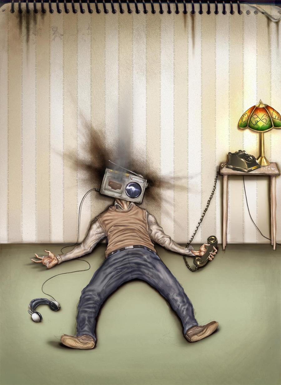 Radio-headache: the blotto by Dogsfather