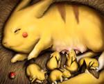 The Momachu -a Pikachu Fanart- by Dogsfather