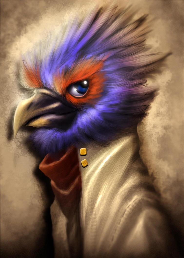 Falco lombardi by Dogsfather