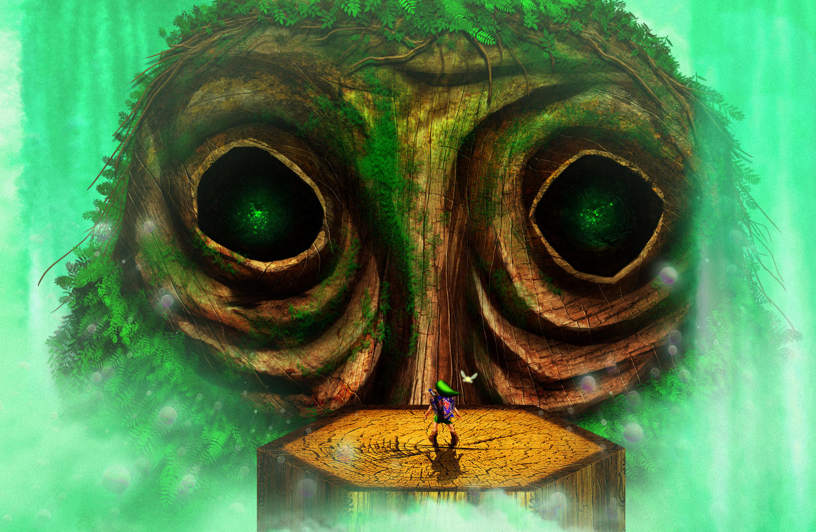 Majoras Mask Moon Giants Dogsfather