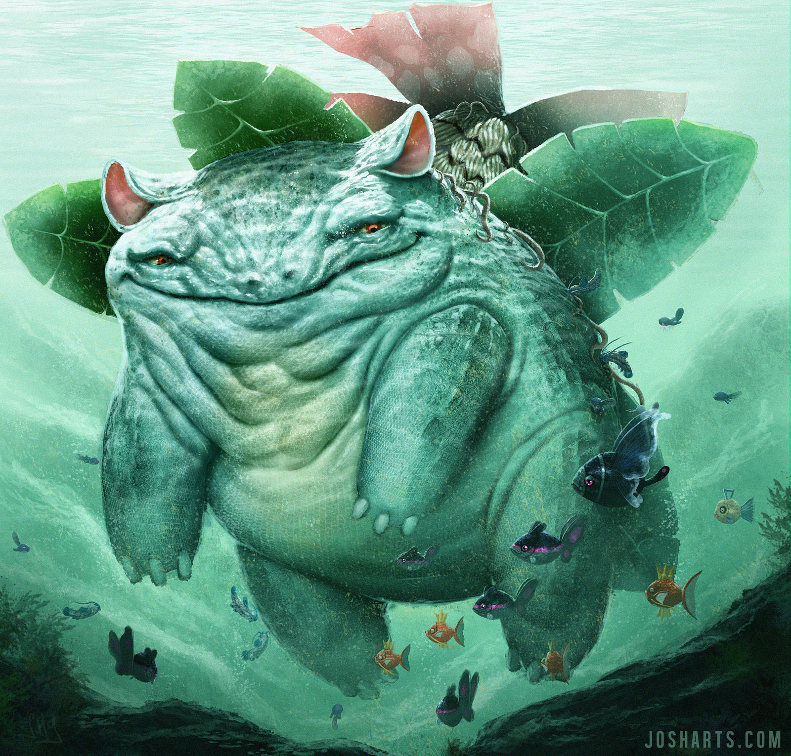 VENUSAUR - POKEDEX EC by Dogsfather
