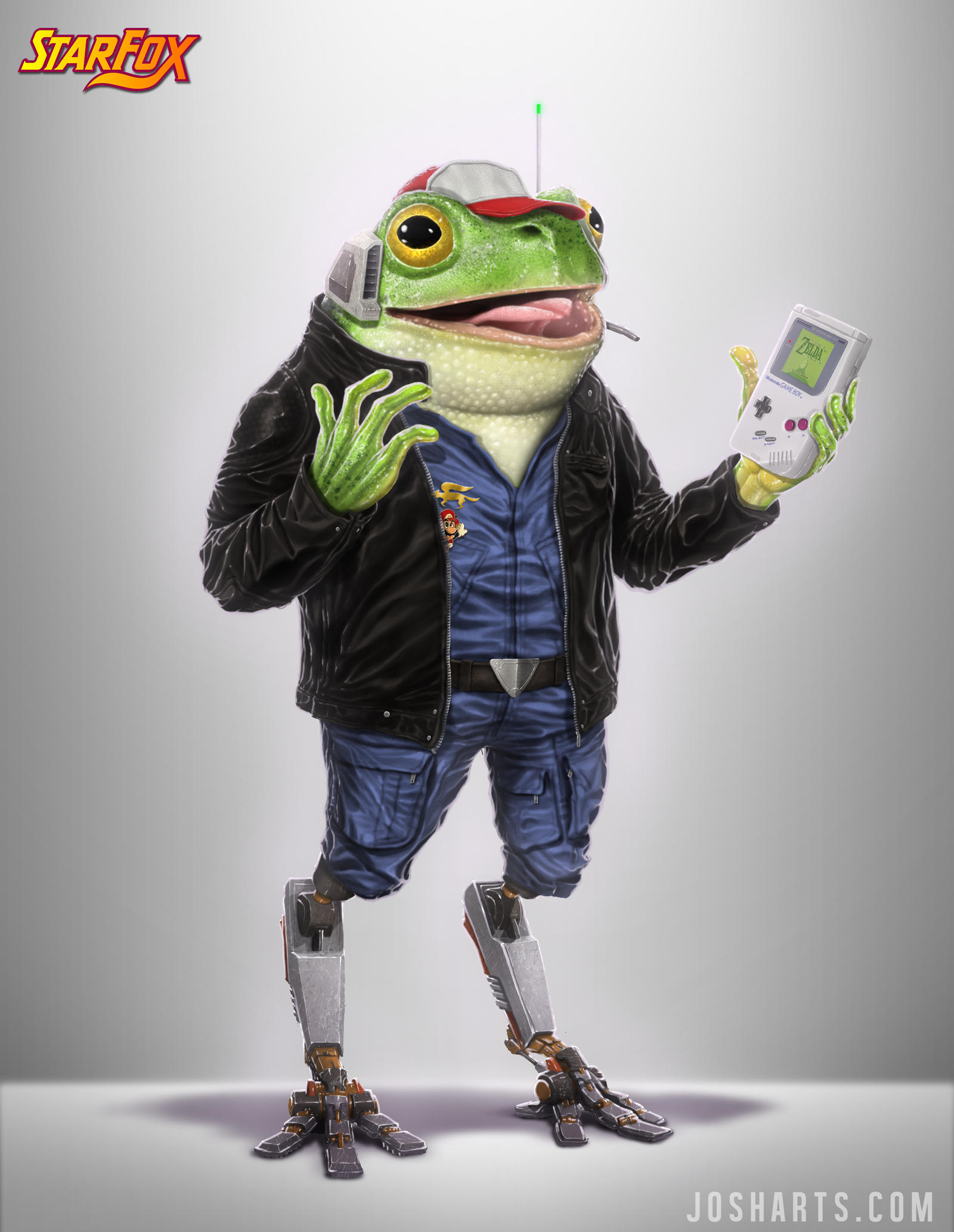 SLIPPY TOAD RE-DESIGN by Dogsfather