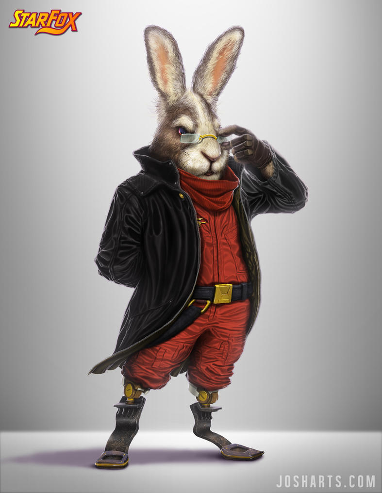 PEPPY HARE RE-DESIGN by Dogsfather