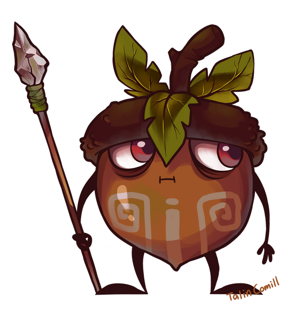 Acorn warrior by TalinComill
