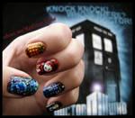Dr Who NailArt!