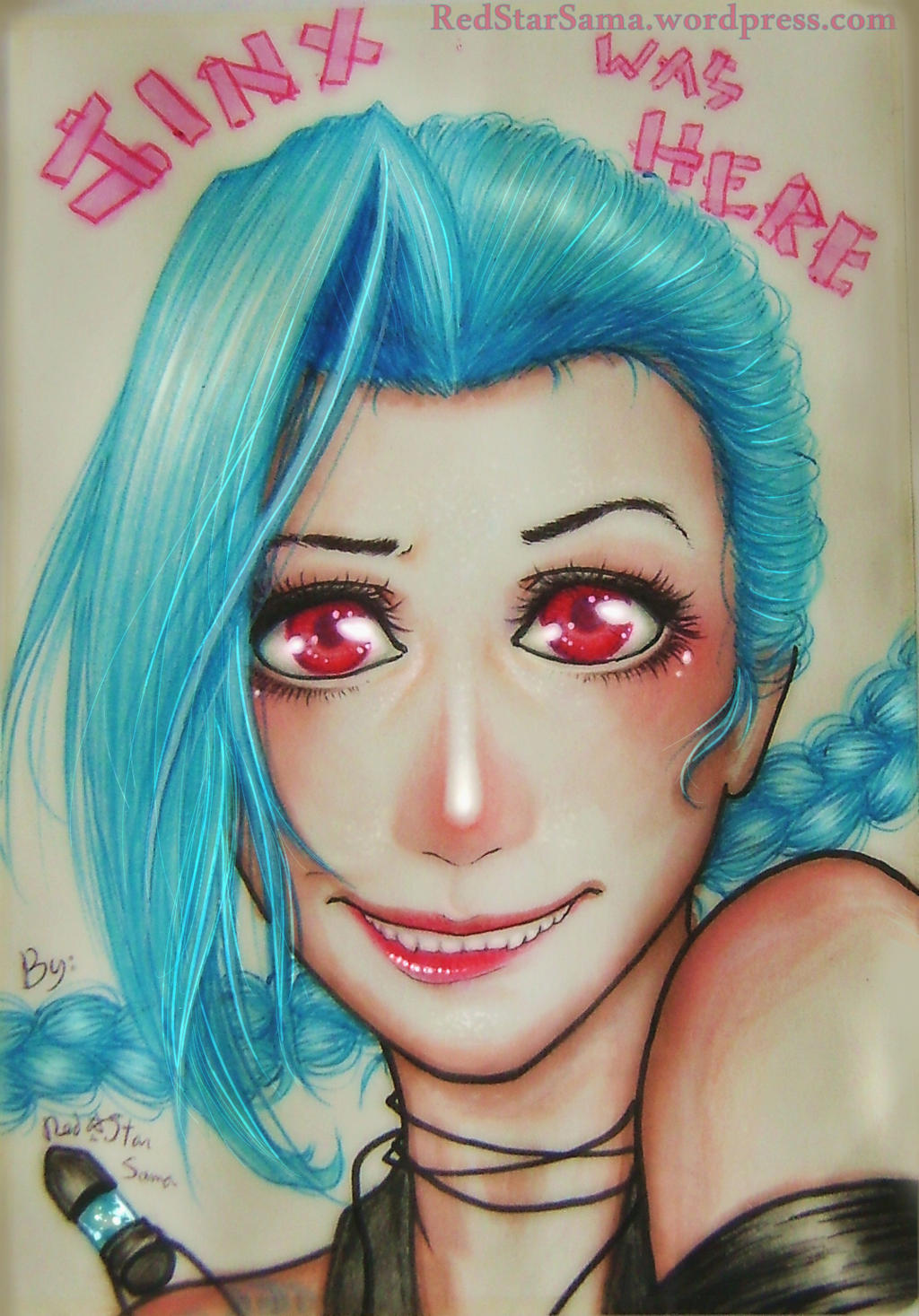 JINX WAS HERE by RedStar-Sama