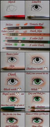 How to Paint Eyes -Tutorial- by RedStar-Sama