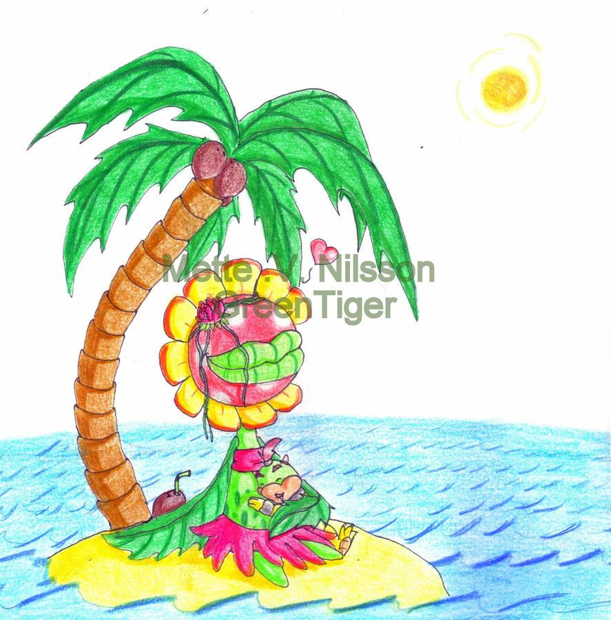 Petey Piranha And Bowser Jr By GreenTigerDK On DeviantArt