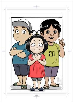 Character design (children) 006
