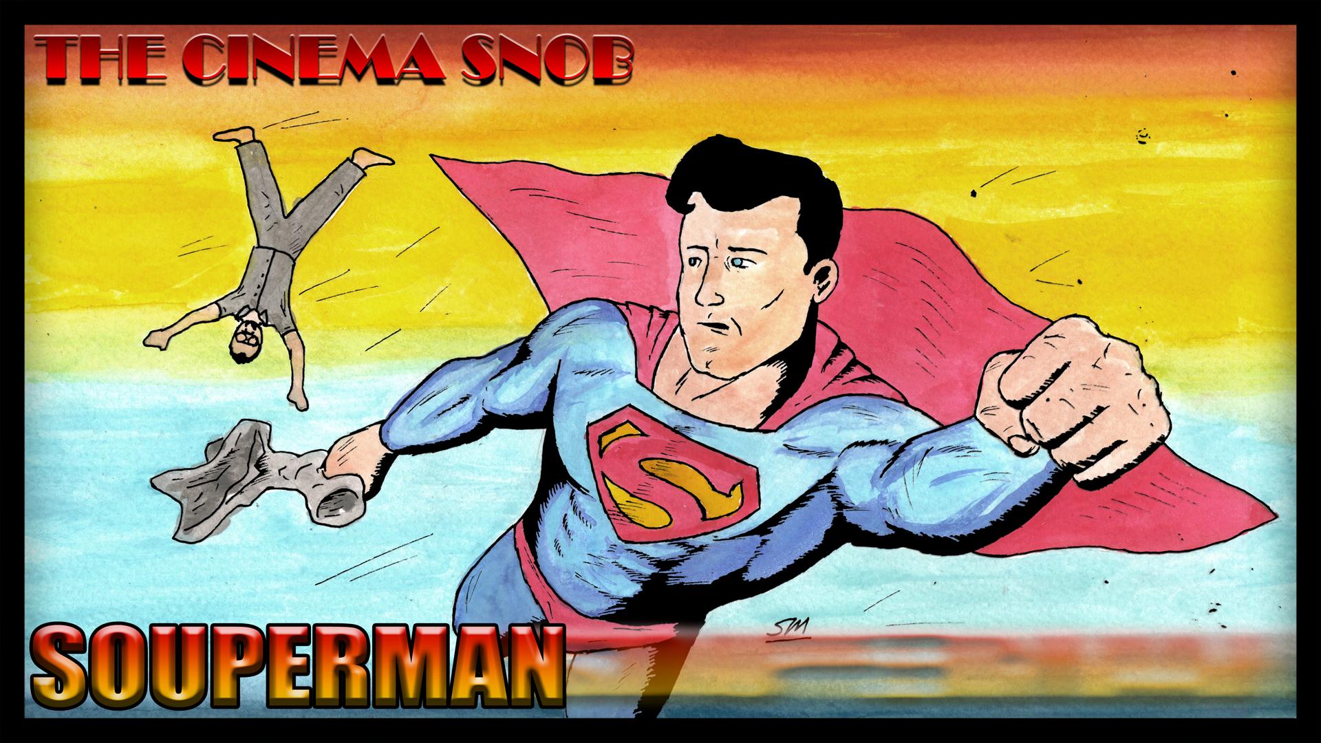 Souperman by ShaunTM