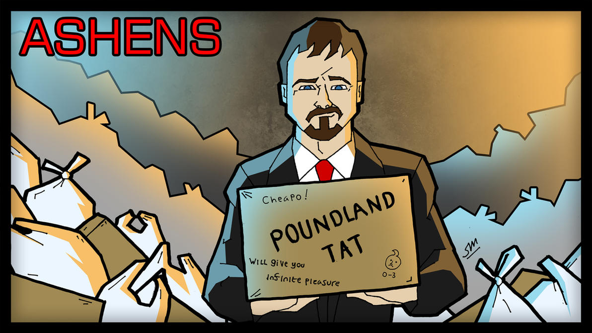 Ashens Tat by ShaunTM