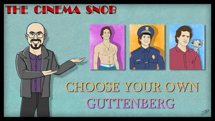 Choose Your Own Guttenberg by ShaunTM