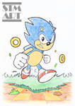 Quick Ink and Color: Classic Sonic the Hedgehog