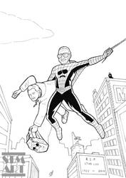 Inking: The Amazing Spider-Stan by ShaunTM