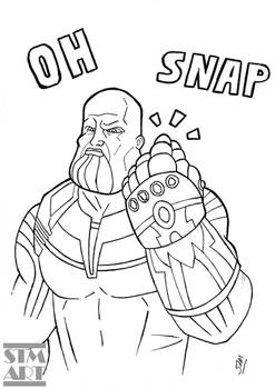 Quick Ink: The Thanos Snap