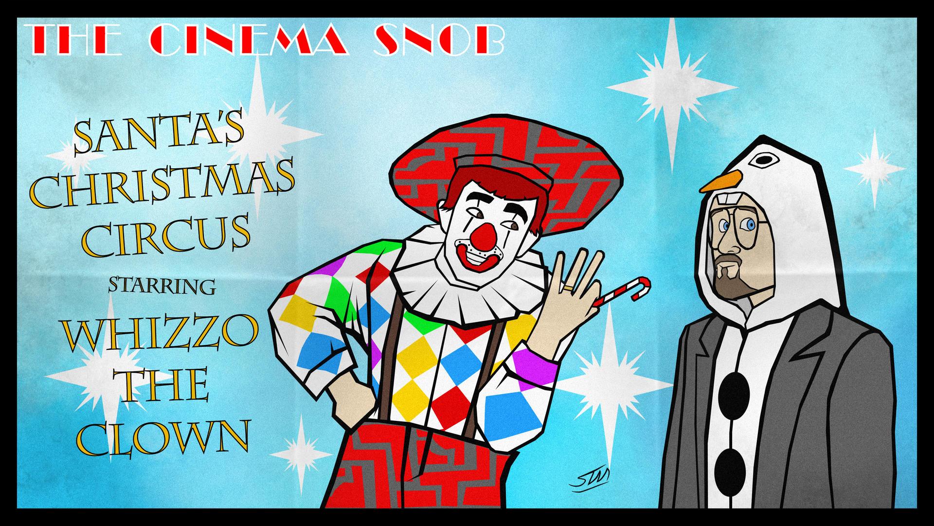 Santa's Christmas Circus Starring Whizzo the Clown