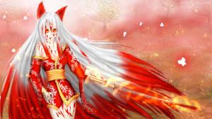 Kitsune Warrior - Bloody Version