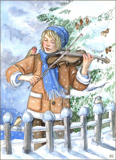 Winter Magic by Leochi