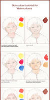 Skin Colour Tutorial for Watercolours