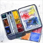 My Watercolour Bijou Box