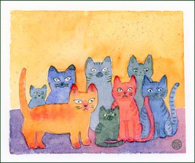 CatGang by Leochi