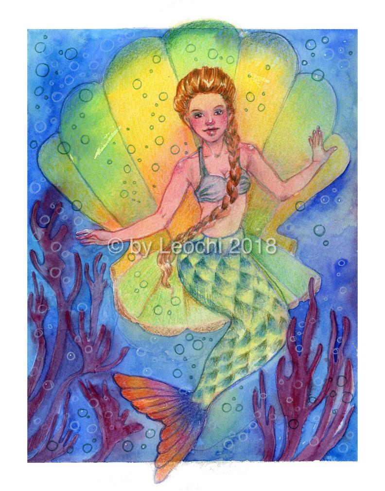 Mermaid by Leochi