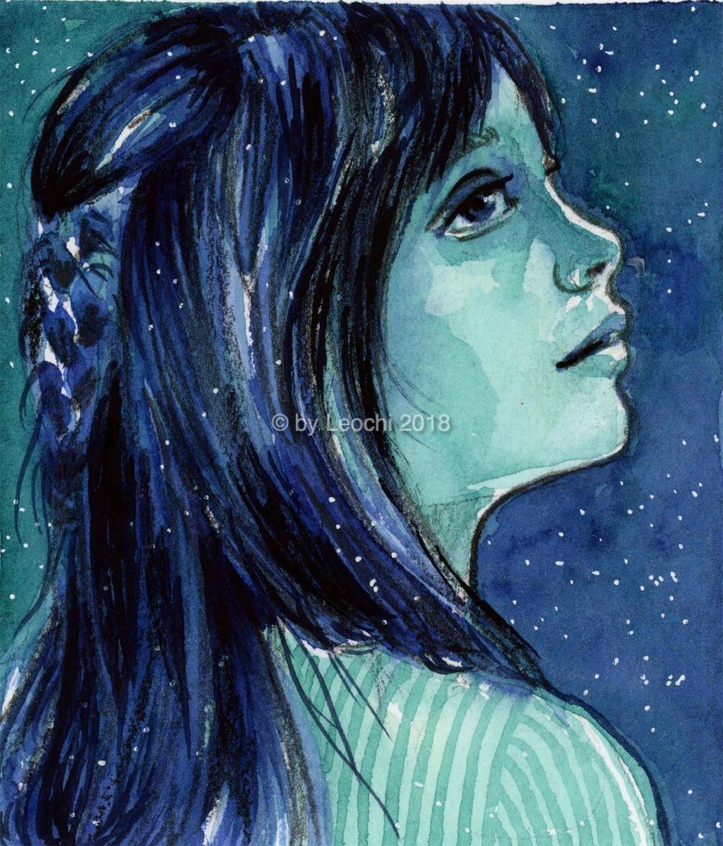 Blue Night by Leochi