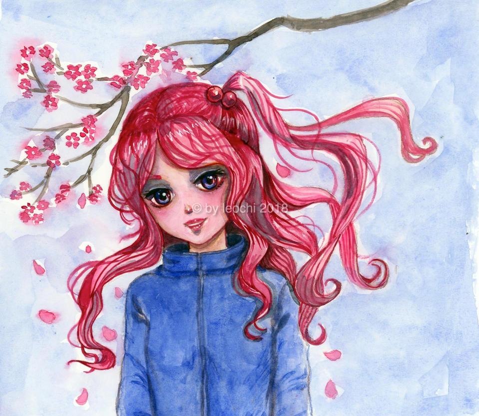 Sakura by Leochi