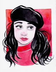 Huevember Cool Red by Leochi