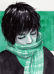 Huevember Blue Green by Leochi