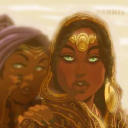 The Princess of Sudan by David-Dennis