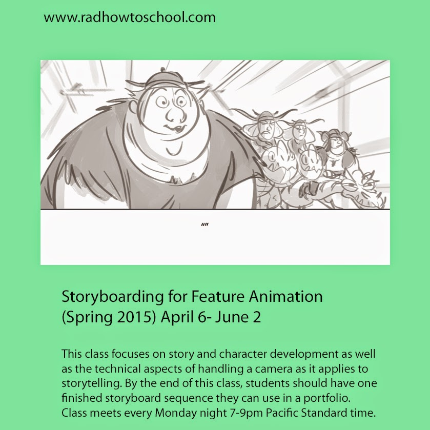 Class Flyer Story Spring 2015 V2 by David-Dennis